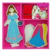 dress up wooden toy dress game