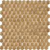 tan irregular shape mosaic ceramic wall tiles rustic