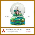 souvenir snow globe with jewelry box