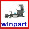 charger dock flex cable for iphone 5 parts