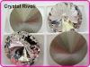 Color Clear/Crystal 18mm Rivoli Crystal Stones, Shiny Fancy Stones as SWAROV Crystal Stones, Chinese Top Quality Crystal Rivoli