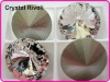 Color Clear/Crystal 18mm Rivoli Crystal Stones, Shiny Fancy Stones as SWAROV Crystal Stones, Chinese Top Quality Crystal Rivoli
