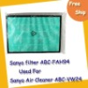free shipping Air Cleaner Filter ABC-FAH94 used for Sanyo ABC-VW24 air cleaner