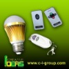 12V energy saving bulb lamp with remote