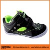 black color PU+ leather children shoes in european style