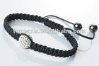 shamballa bracelet pave ball crystal 12mm SBR387