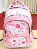 2012 lastest design fashion daily bag for climbing cycling camping bag pink backpack girl pink school bag