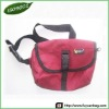 Red Nylon Pouch Bag