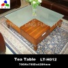 Hot Sell glass top coffee table