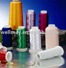 dyed viscose embroidery thread