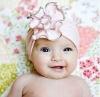 Fashion pink piping flower baby hat-wedding supply-wedding favor