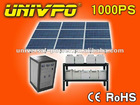 1KW Solar home system with Charge Controller, Batteries and Off-grid Inverter Integrated