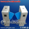 Half height turnstile flap barrier
