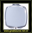 Square Make-up Mirror with Round Corner
