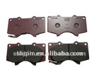 car front brake pad for toyota landcruiser