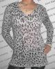 (code: 100367) Lightweight lepoard printed sweaters