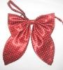 red silk bowtie
