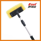 5 face bristles brush head water flow car brush