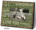 Shabby Wood Lovely Picture Frame for Home Decor