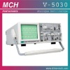 V-5030 analog oscilloscope, 30MHz frequency, dual channel oscilloscope