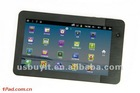 "7"" Capactitive, Android 2.3 ,Support flash 10.3 Tablet pc Model NO.: EAM738"