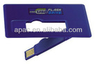 New design credit card usb flash pen drive bulk cheap 8gb