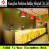 luxury reception desk/table/counter/hotel furniture
