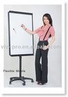 VIZ-PRO flexible free-standing flipchart easel standing