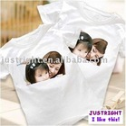 Blank T-shirt for Sublimation (Cotton/Polyester)
