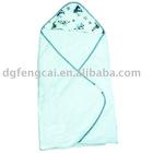comfortable 100% cotton fleece baby blanket