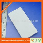 Wear resistant zirconia machinable ceramic plate