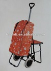 RPET newly arrived hot selling cute shopping trolley/bag/cart (bag can be taken apart)