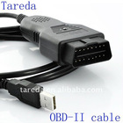 High quality 16pin obd2 to usb cable