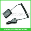 Car charger for transceiver