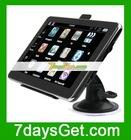 7 Inch Car GPS Navigation ISDB-T T7 GPS FM WinCE 5.0 + 2GB TF Card Free IGO Map Black + Free shipping