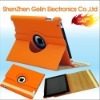 For iPad2 Leather 360 Rotating stand case