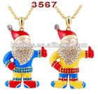 China Yiwu Market Christmas Santa Claus Jewelry