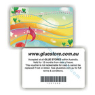 PVC printed gym membership card