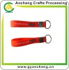 Screen prints silicone rubber wrist band keychains