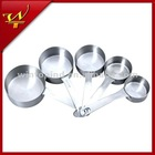 5pcs Stainless Steel Measuring Cup