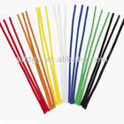solid color chenille stems for party supplies