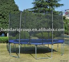 12ft outdoor trampoline with safety enclosure