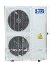 Low ambient temperature air to water EVI heat pump three in one unit(central air conditioner and sanitary hot water8kW 10kW 12kW