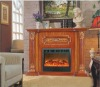 European type Wall mounted electric fireplace