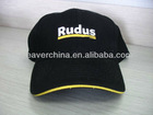100%cotton baseball cap with embroidery