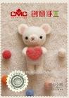 DIY Needle wool felt bear kit