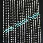 8mm bead diamter silver plated interior room divider