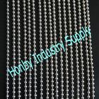 8mm bead diamter silver plated interior room divider