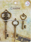 wholesale initial charms for hobby craft