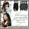 100% Brazilian Natural Straight Human Hair